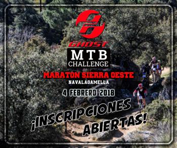 Maratón Sierra Oeste - Inscripciones abiertas