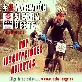 Maratón Sierra Oeste - Ghost MTB Challenge 2019