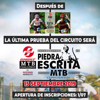 Piedra Escrita MTB - Ghost MTB Challenge 2019