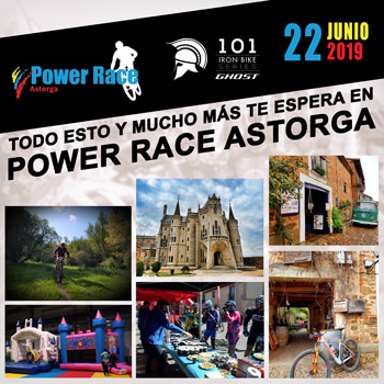 POWER RACE ASTORGA - 101 Ghost Iron Bike Series 2019