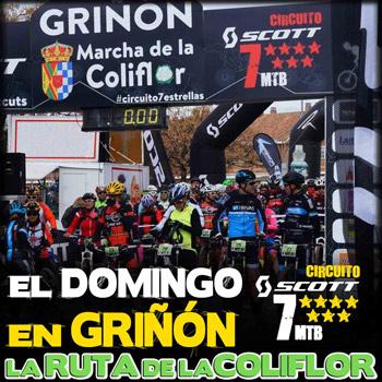 Ruta de la Coliflor - Circuito SCOTT 7 estrellas 2018
