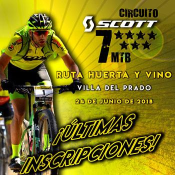 Ruta Huerta y Vino - Circuito SCOTT 7 Estrellas 2018