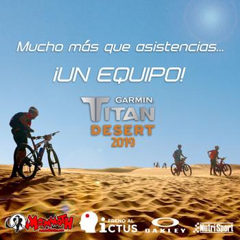 Titan Desert 2019 - Equipo Mammoth - Freno al Ictus