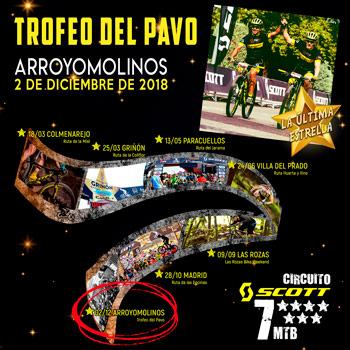 Trofeo del Pavo - Circuito SCOTT 7 Estrellas 2018